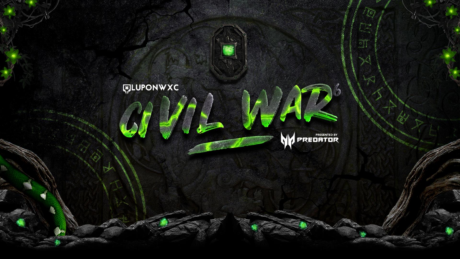 Civil War Season 6 begins now