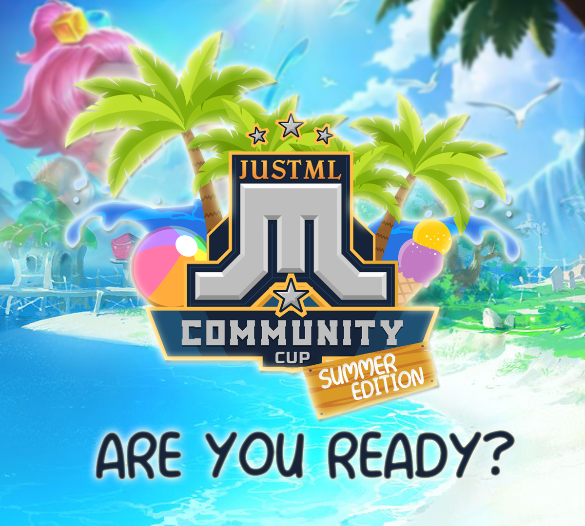 Register now for JustML Community Cup – Summer Edition