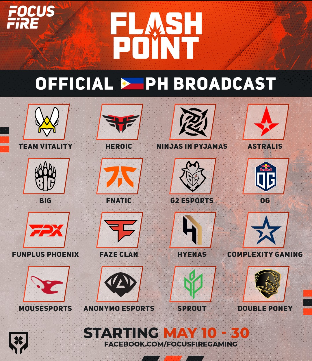 LuponWXC Secures Broadcast Rights for #CSGO's Flashpoint Season 3
