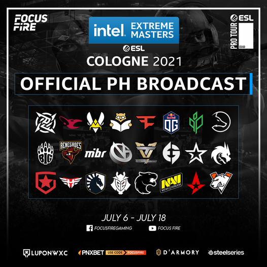 ESL Update: Official Filipino Broadcast for CSGO Cologne